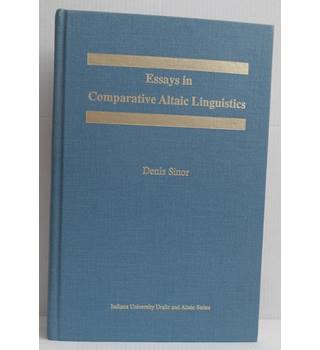 Essays in comparative Altaic linguistics
