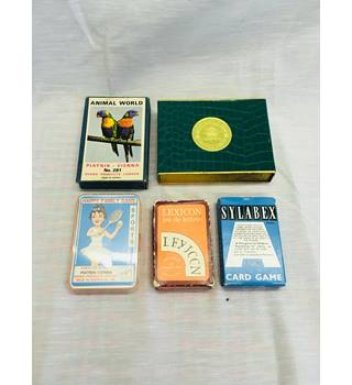 Set of five vintage games