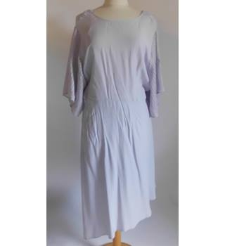M&S Limited Edition Lilac Asymmetrical Dress Size: 16