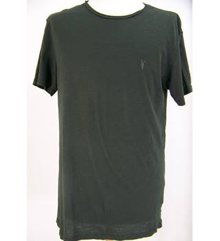 Allsaints - Size: S - As new, Charcoal Grey - Short sleeved T-shirt