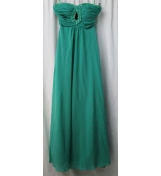 Unbranded  Size: S Green Strapless Evening Dress