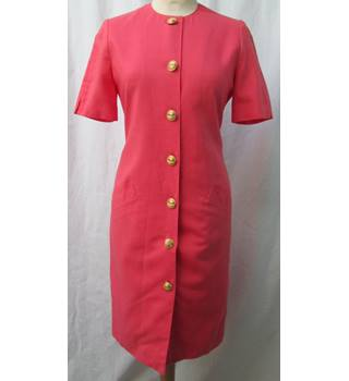 Smart Size: 8 Petite Coral Knee length dress