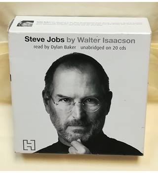 Steve Jobs: The Exclusive Biography [Audiobook 20xCD in GOOD Condition]