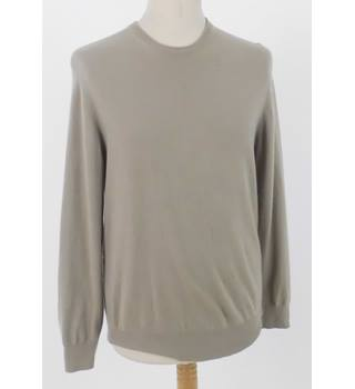 Pringle of Scotland Size S Sand Beige Cashmere Jumper