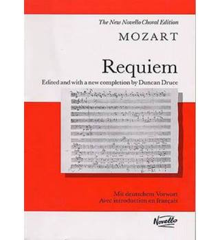 Mozart Requiem Revised Druce Vocal Sco