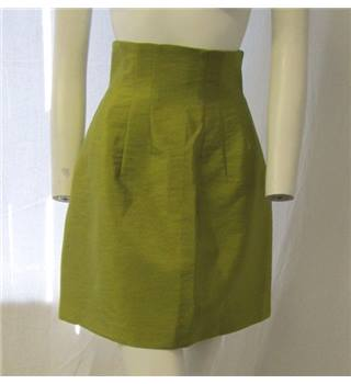 H&M Size 8 Lime Green Skirt
