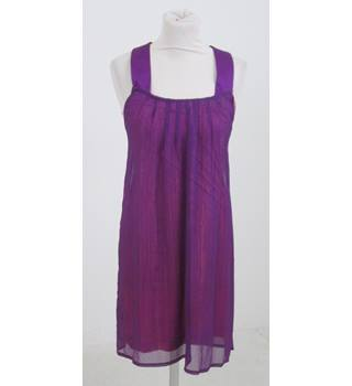 St-Martins - Size: S - Purple  with pink slip dress