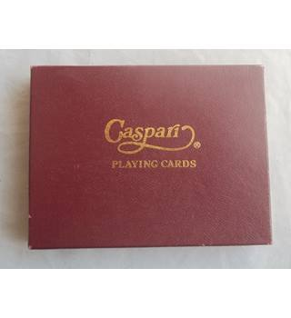 Caspari Playing Cards Larkspur Peonies And Canterbury Bells