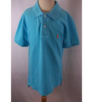 Polo Ralph Lauren - Size: 8 Year Old - Blue - Short sleeved Polo Shirt