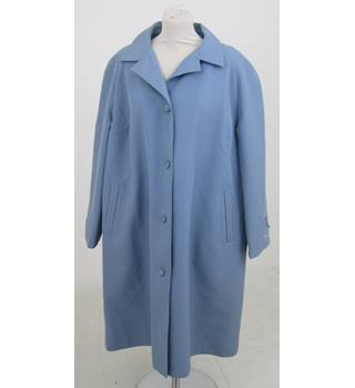 BNWT David Barry - Size: 22 - Blue quilted coat