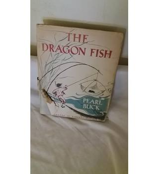THE DRAGON FISH 1944 Pearl Buck First Edition Vintage Children's Book Folk Tales