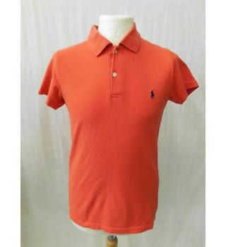 Polo by Ralph Lauren - Size: 12 - 13 Years - Orange - Polo shirt