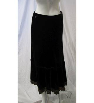 Boden Size 12 Brown Velvet Skirt Boden - Size: 12 - Brown