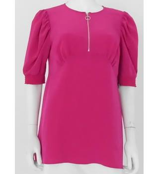 BNWT ASOS Size 10 Hot Pink Blouse
