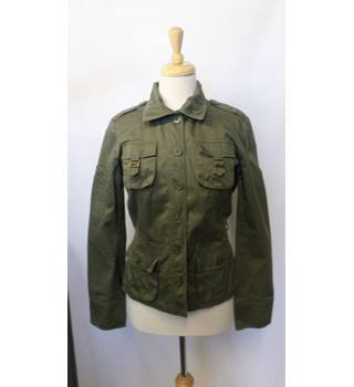 H&M - Size: 12 - Green - Casual jacket / coat