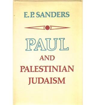 Paul and Palestinian Judaism