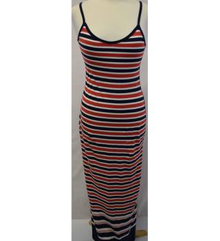 Superdry red/white/blue maxi sun dress size S Superdry - Size: S - Multi-coloured
