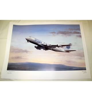 'Morning Clipper' Signed Limited Edition Print 97/747 Tim Nolan