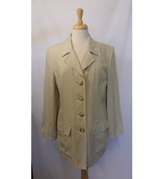 Jaeger - Size: 12 - Cream / ivory - Jacket