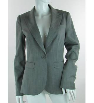 Ted Baker - Size: 10 (Ted 2) - Grey - Wool Blend Suit jacket