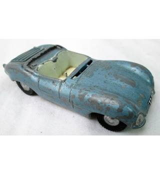 Vintage SPOT-ON Triang JAGUAR XK SS die cast model. No. 107 SPOT-ON