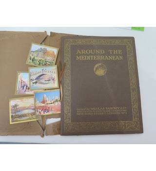 Around The Mediterranean: Incomplete Album Of Cigarette Cards