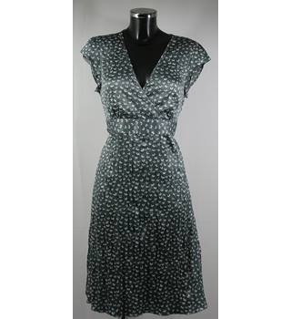 MONSOON DRESS- SILVER GREY PRINT-SIZE 14 Monsoon - Size: 14 - Multi-coloured - Knee length dress
