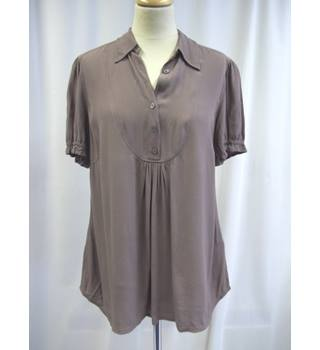 Ghost - Size: 12 - Brown - Short sleeved Top