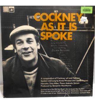 Cockney As It Is Spoke - Vinyl