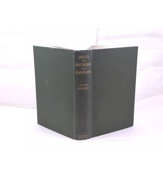 Essays on Freethinking and Plainspeaking by Leslie Stephen publ Smith, Elder and Co 1907