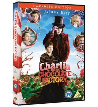 CHARLIE AND THE CHOCOLATE FACTORY PG