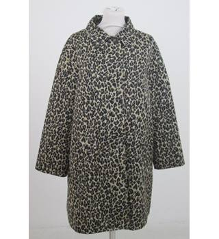 Max Mara Weekend - Size: 10 - Brown - Animal Print Jacket