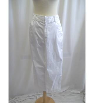 Ralph Lauren - Size: 12 - White - Cropped trousers
