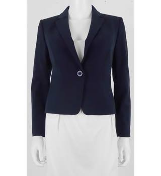 NWOT M&S Marks & Spencer Petite Size 8 Navy Jacket