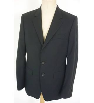 "Gucci Size: S, 36"" chest, tailored fit Black Smart/Stylish Wool Single Breasted Italian Designer Jacket"