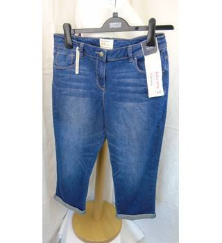 BNWT Red Herring - size 12, blue cropped jeans