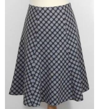 Hobbs-Size 12-Grey Mix-Skirt.