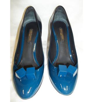 Louis Vuitton - Size: 3.5 - Blue - Dice Heeled shoes
