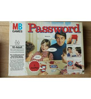 MB Games Password
