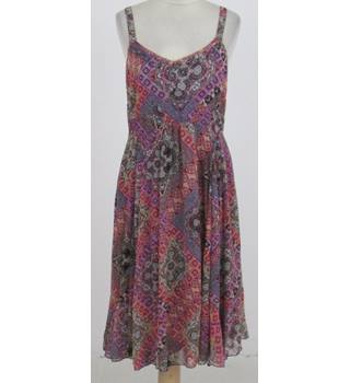 Per Una Size:10 lilac patterned dress
