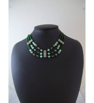 Unbranded - Green -Multi-strand - Necklace