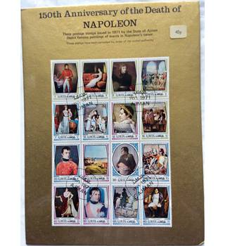 150th anniversary of the death of Napoleon stamps (Ajman) | Oxfam GB |  Oxfam's Online Shop