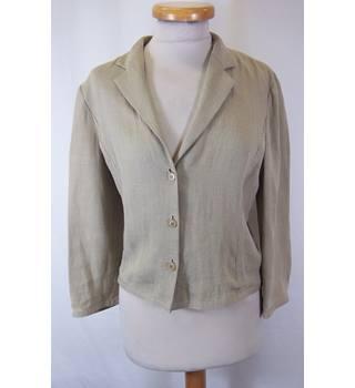 ba81108cc939b Emporio Armani - Size: 16 - Beige - Smart jacket / coat
