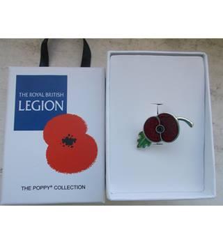 Royal British Legion Poppy Collection brooch | Oxfam GB | Oxfam's Online  Shop