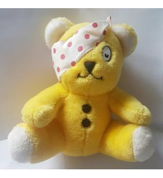 Vintage original Children in Need plush Pudsey bear Children in Need |  Oxfam GB | Oxfam's Online Shop
