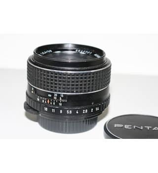 Asahi Pentax SMC Takumar 50mm f1 4 fast aperture standard lens for M42  screw thread SLR cameras and other types with adapters  | Oxfam GB |  Oxfam's