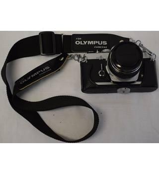 Olympus OM - 1 35mm camera with Zuiko 50mm 1 8 lens | Oxfam GB | Oxfam's  Online Shop