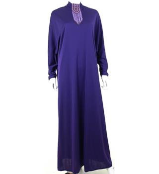 7e7b3ea3c95 Vintage - Frank Usher - Size  12 - Purple - Long dress