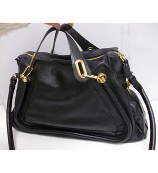 Chlo 0201 Size One Black Shoulder Bag