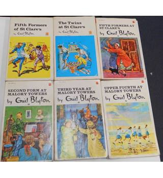 6 Enid Blyton Mallory Towers / St Clare's Paperbacks | Oxfam GB | Oxfam's  Online Shop